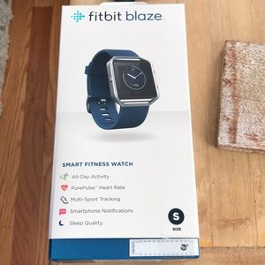 Fitbit Blaze never used still in box unopened